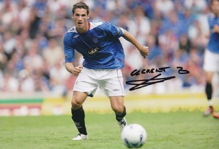 Jeremy Clement, Rangers, signed 12x8 inch photo.